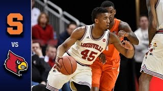 Syracuse vs. Louisville Men's Basketball Highlights (2016-17)