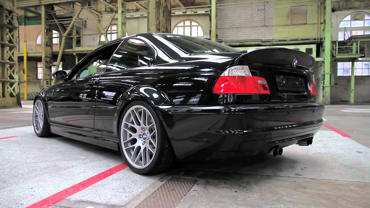M3 Csl With Custom Made Exhaust Youtube