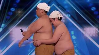 Yumbo Dump Make Noises With Their Bodies! | America's Got Talent | 2018