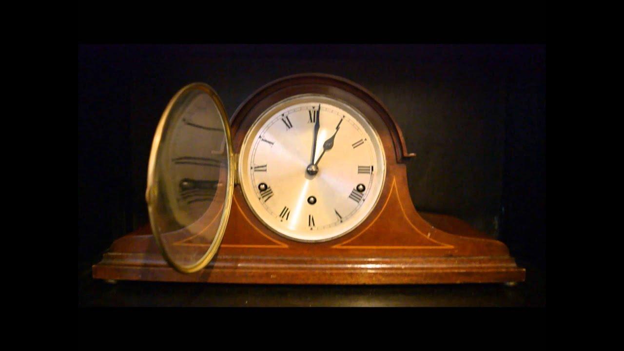 Westminster chimes mantle clock urgos movement youtube amipublicfo Choice Image