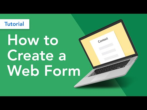 How to Create a Web Form | Web Forms 101
