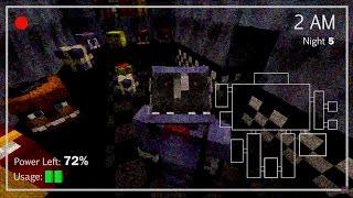 SCARIEST MINECRAFT HORROR - Five Nights at Freddy