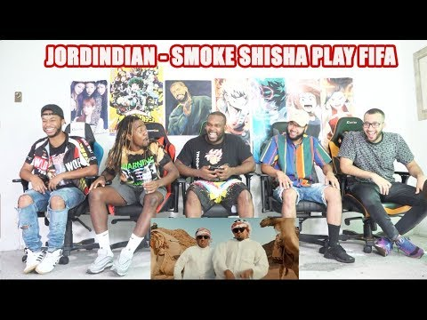 JORDINDIAN  SMOKE SHISHA PLAY FIFA  REACTION