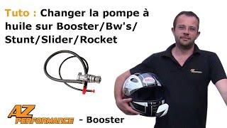 Tuto Changer la pompe à huile son Booster / Stunt / Rocket / ...