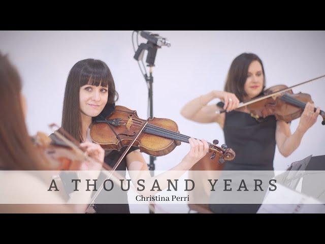 A Thousand Years | Christina Perri | Bravo Music Events String Quartet