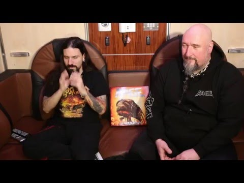 """RAGE - Interview with Peter """"Peavy"""" Wagner and Marcos Rodriguez"""
