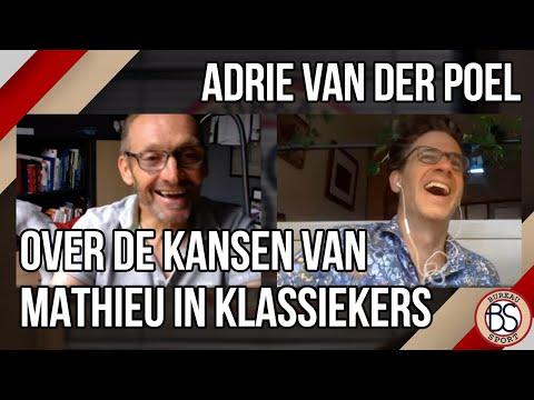 Adrie van der Poel: 'Als ik mag kiezen, wint Mathieu in Roubaix'