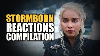 Game Of Thrones Season 7 | STORMBORN Reactions Compilation