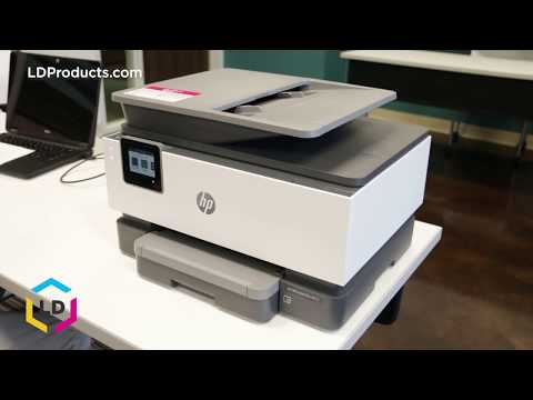 How to Install Ink Cartridges in the OfficeJet Pro 9015 and 9025