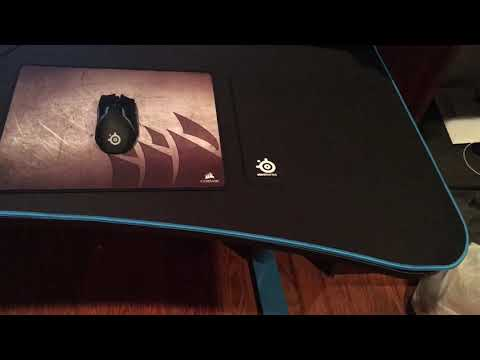 Speed of The Arozzi Gaming Desk Mousepad