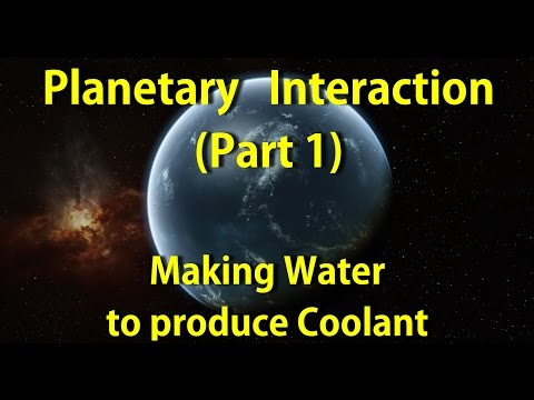 Planetary Interaction - Part 1 - Making Water!