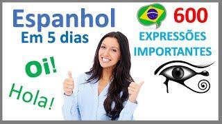 Aprender Espanhol em 5 dias - Conversação para iniciantes
