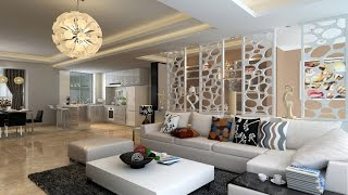 White living room furniture decorating ideas