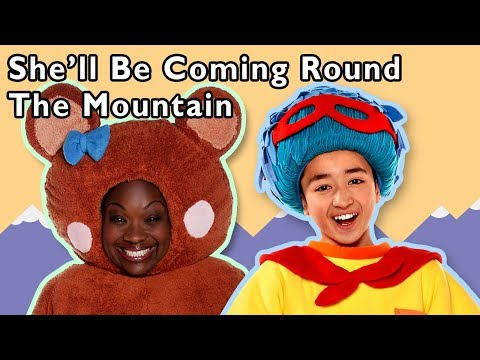 She'll Be Coming Round the Mountain and More | VACATION RHYMES | Baby Songs from Mother Goose Club!