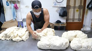 Amazing Skills of Fried Dumplings Master - Korean Street Food