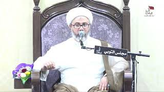 وصية الإمام محمد الباقر عليه السلام لجابر الجعفي لا تظلم - الشيخ مصطفى الموسى