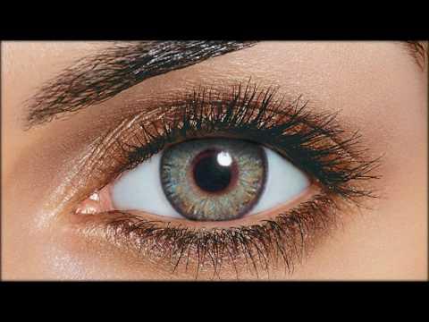 Купить цветные линзы для карих глаз.
