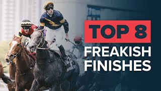 TOP 8 CRAZY RACE FINISHES | MINE THAT BIRD & CHAUTAUQUA