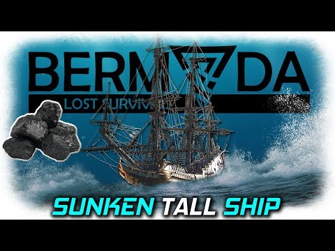 Sunken Tall Ship | Bermuda Lost Survival Gameplay | EP6