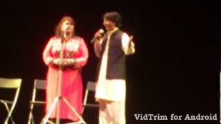 Punjabi Stage Drama Jokes in Barcelona 2013 Harttaching shayari i love it
