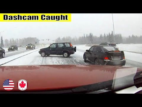 Ultimate North American Cars Driving Fails Compilation - 212 [Dash Cam Caught Video]