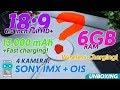 UNBOXING HP MONSTER  Batre 13 000 mAh   RAM 6GB   Sony IMX   OIS   Wireless Charging   Oreo 8 1