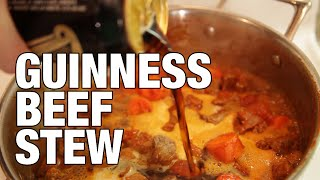 Guinness Beef Stew | The Hungry Bachelor