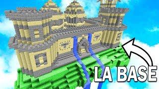 LA PLUS GRANDE BASE SÉCURISÉE DU MONDE ! | Minecraft Mega Bed Wars