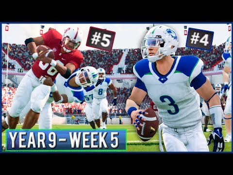 Top 5 Showdown - NCAA Football 14 Dynasty Year 9 - Week 5 @ #5 Stanford | Ep.153