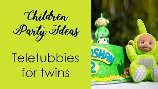 Children Party Ideas Teletubbies For Twins Diy Kids Party Ideas
