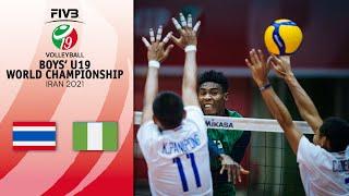 THA vs. NGR - Full Final 13-14 | Boys U19 Volleyball World Champs 2021