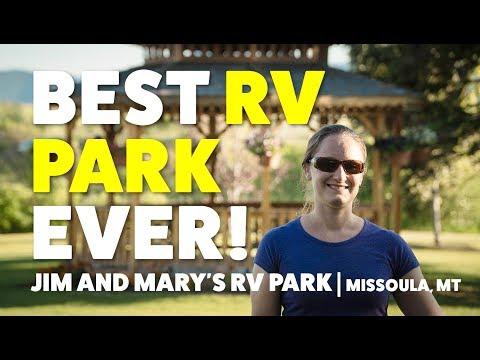 Loving Jim And Mary's RV Park In Missoula Montana