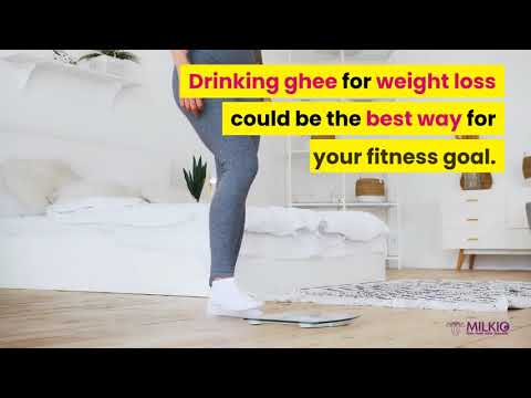 Drinking ghee for weight loss could be the best way for your fitness goal.