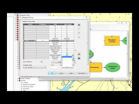 Least Cost Path Tutorial with ArcGIS 10