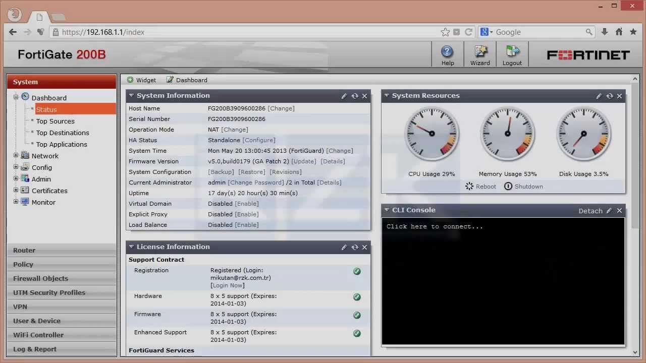 FortiGate (FortiClient ile Son Kullanıcı Kontrolü) (v5 0 2)