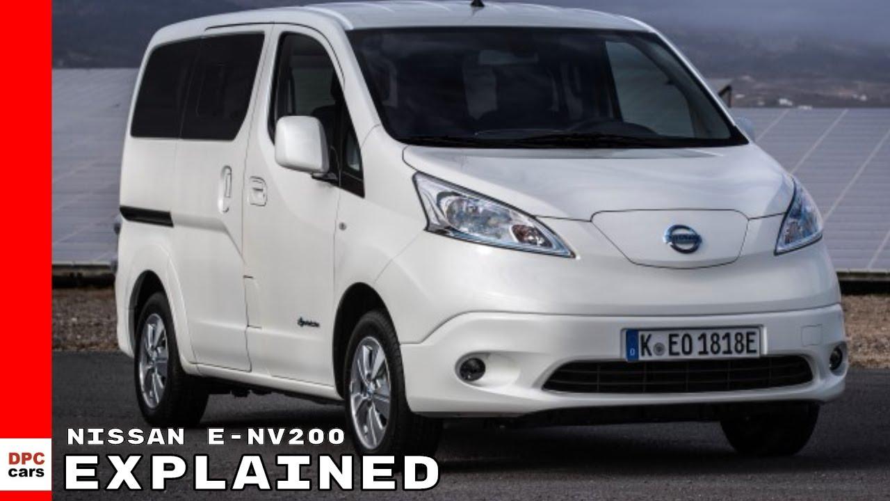 Nissan e-NV200 Electric Van Explained - YouTube