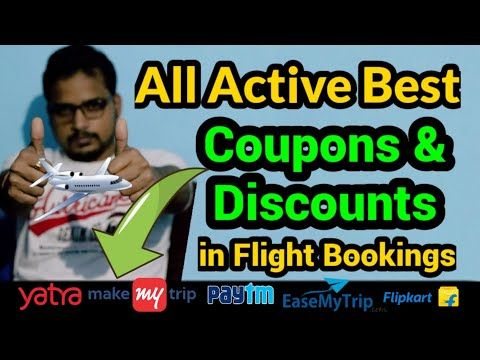Best Domestic Flights Booking Active Coupons And Offers | Cheap Flight Booking Offers In End 2020