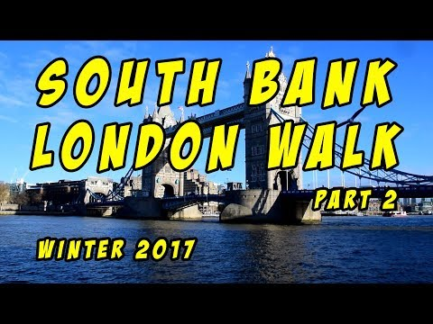 South Bank London Walk The Golden Hinde to Shad Thames