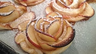 Apple Roses Cake ,cupcakes