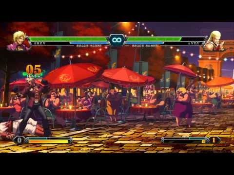 "Atlus/SNK Playmore: ""King of Fighters XIII"" - Stage 2: Fighting Game Player P.2 - JCHensor & Kane317"