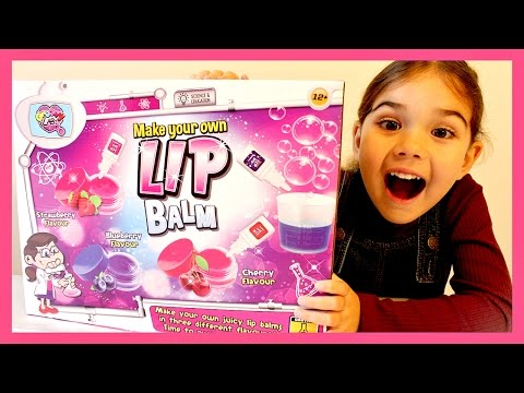 Making LIP BALM For Kids