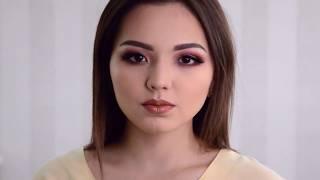 Макияж для азиатских глаз. Азиатское веко.  Вечерний макияж глаз | Julia Shavlova - makeuprof.kz