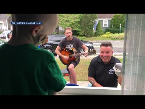 Cole Selleck - Dropkick Murphys Perform Outside Sick Kid's Window