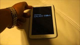 How to Reset Samsung Galaxy Tab 3 | Soft Reset | Factory Setting | Original Setting