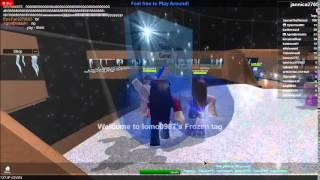 Roblox-Frozen Freeze Tag! with DylanTeenMC and AgentBrotastic
