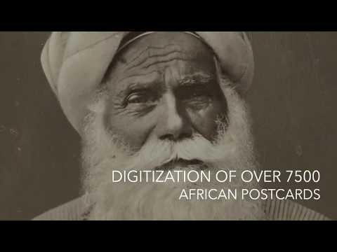 Postcard Mass Digitization at Smithsonian's National Museum of African Art