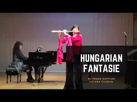 Hungarian Fantasie Doppler Viviana Guzman Taiwan Recital