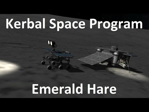 Kerbal Space Program - China's Moon Rover - Example - YouTube