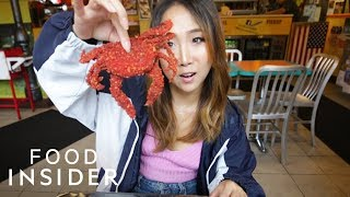 Would You Eat A Soft-Shell Crab Fried In Hot Cheetos?