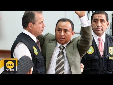 Dictan 14 meses de prisión preventiva para Presidente Regional de Cajamarca